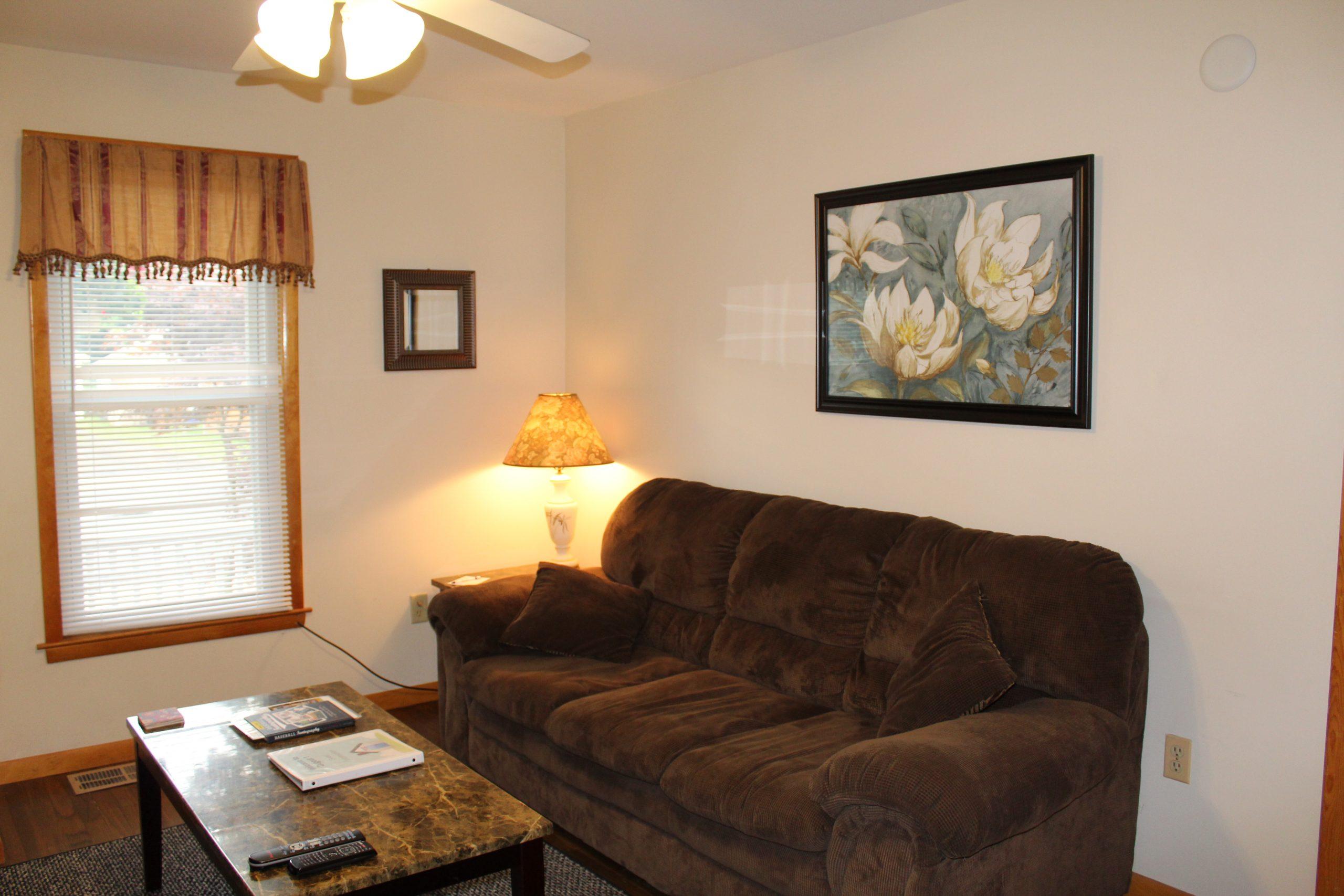 48 Miller Street #1A, a first floor 1 bedroom apartment